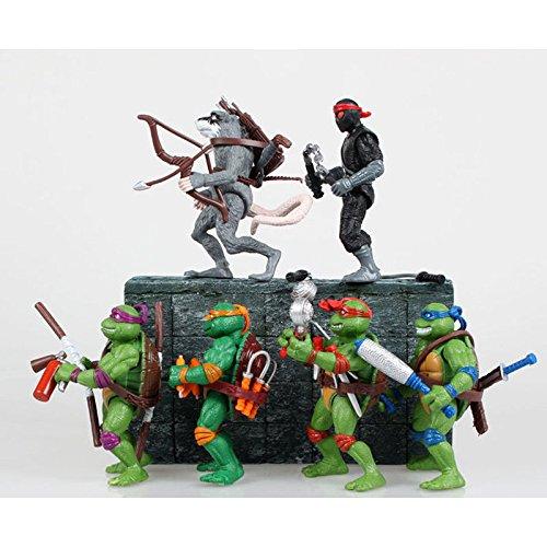 Classic Toys Collection Teenage Mutant Ninja Turtles Action Figures