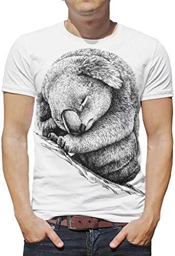 Neuheit Lässig Mehrere Muster Kurzarm-T-Shirt für Männer Frauen