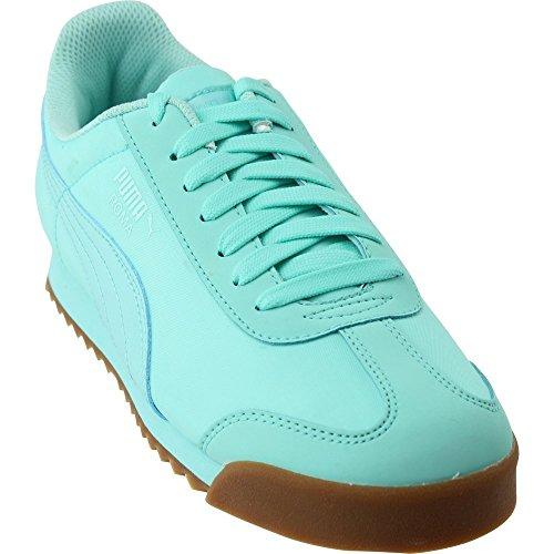 Puma Roma Basic Summer Jr Big Kid's Shoes Aruba Blue 359841-11 (5.5 M US) -