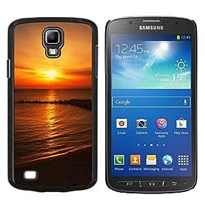 TECHCASE---Cubierta de la caja de protección para la piel dura ** Samsung Galaxy S4 Active i9295 ** --Hermosas Australia Sunset Rocks