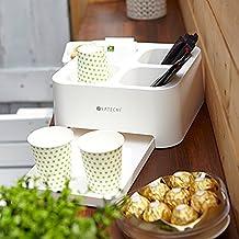 Satechi® Café Tray Nesspresso Organizer Coffee Condiment Holder and Tray by Satechi