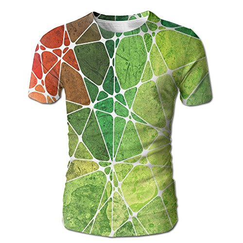 Wild Beast Men Graphic Fashion Abstraction Rainbow Pattern Short Tshirts - Crossword Worksheet Christmas