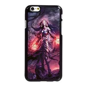 Q3R67 Liliana Vess magia del iPhone 6 4.7 pulgadas del teléfono celular de la recolección O3Q0EQ funda funda Cubierta Negro AR8CEP3QG