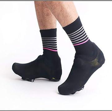 HHHKKK Cubre Zapatos Cubrezapatillas Ciclismo MTB Cubrezapatillas, Cubierta de Zapatos de Bloqueo de Ciclismo en Invierno Cubrebotas Impermeable A Prueba de Viento: Amazon.es: Deportes y aire libre