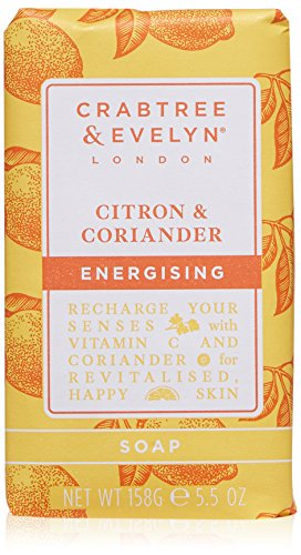 Crabtree & Evelyn Citron & Coriander Triple Milled Soap, 5.5 oz