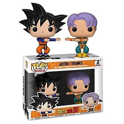 Funko Pop! Animation Dragon Ball Z Goten / Trunks 2-Pack: Toys & Games