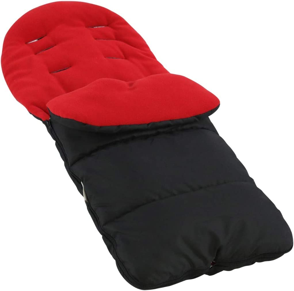 Premium Footmuff//Cosy Toes Compatible with Egg Stroller Black Jack