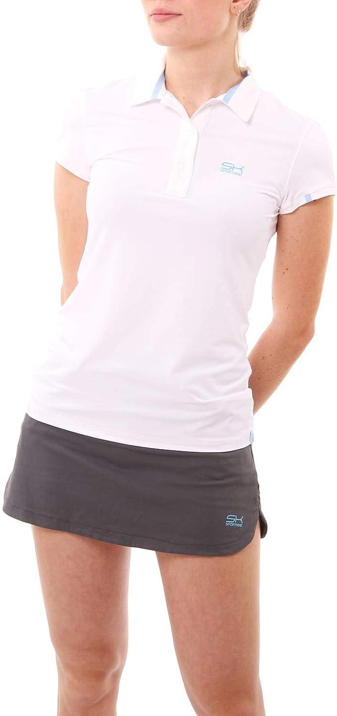 SPORTKIND Girls & Ladies Tennis/Golf/Sports Polo Shirt: Amazon.es: Ropa y accesorios