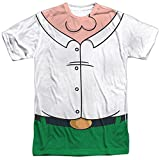 The Family Guy Peter Costume Mens Sublimation Shirt White 2X