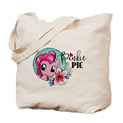 CafePress - MLP-Pinkie Pie - Natural Canvas Tote Bag, Cloth Shopping Bag