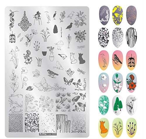 (Love^Store - nail stamping plate - Cute Dog Nail Art Stamping Plates 9.514.5cm Beading Valentine's Day Stamping Template Image Plates Nail Stamp Plate - by Love^Store - 1 PCs)