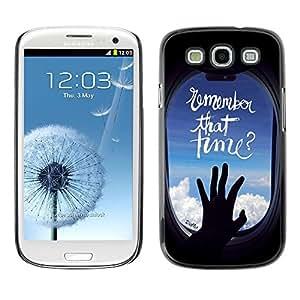 Dragon Case - FOR Samsung Galaxy S3 - go where you wanna go - Caja protectora de pl??stico duro de la cubierta Dise?¡Ào Slim Fit