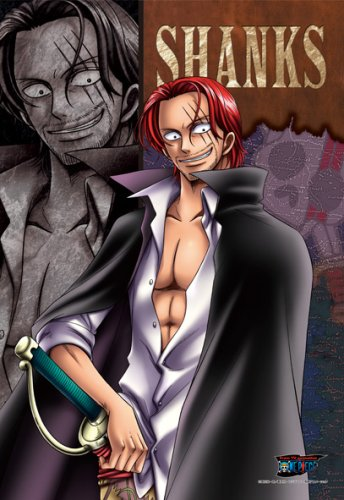 Shanks Cosplay Costume (One Piece Red Hair Shanks Puzzle 300 Piece)