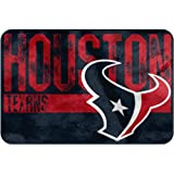 "NFL ""Worn Out"" Bath Mat, 20"" x 30"" - Most NFL Teams Available (Houston Texans)"