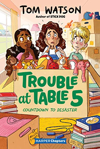 Book Cover: Trouble at Table 5 #6: Countdown to Disaster
