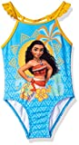 : Disney Toddler Girls' Moana Swimsuit, Sky Blue, 3T