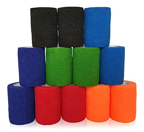 hgp-adhesive-elastic-bandage-3-inch-x-5-yds-brilliant-performer-12-pack-rolled-cohesive-wrap-self-ad