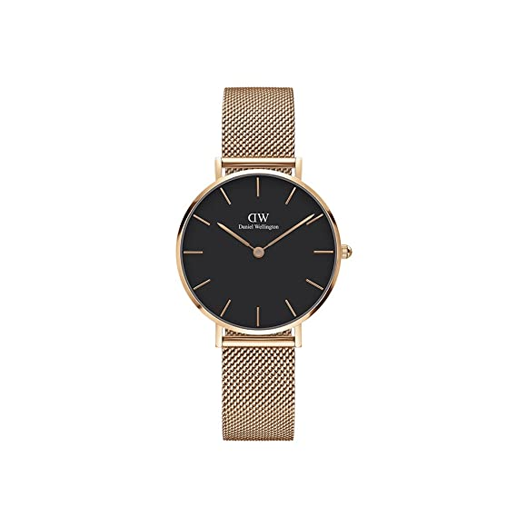 7b0a5da15f77 Buy Daniel Wellington Classic Petite Melrose Black 32mm Online at ...
