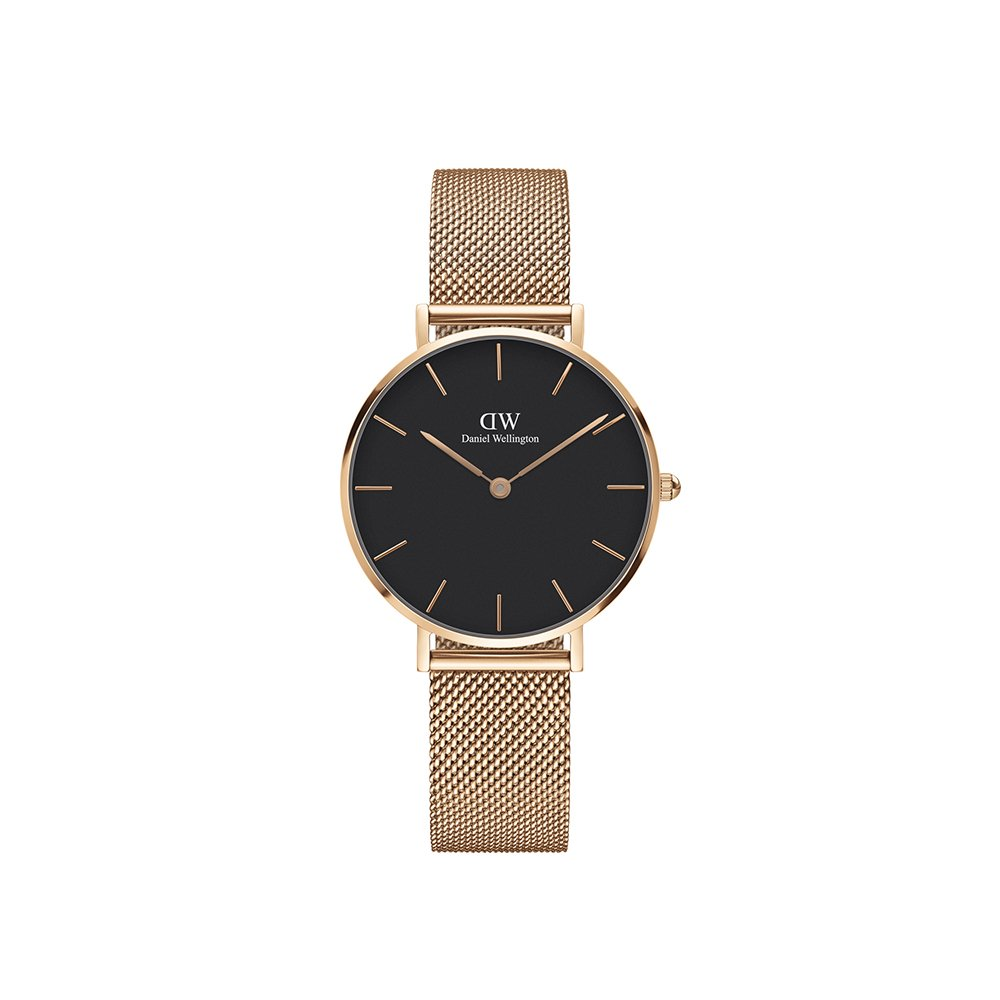 Daniel Wellington Classic Petite Melrose in Black 32mm by Daniel Wellington