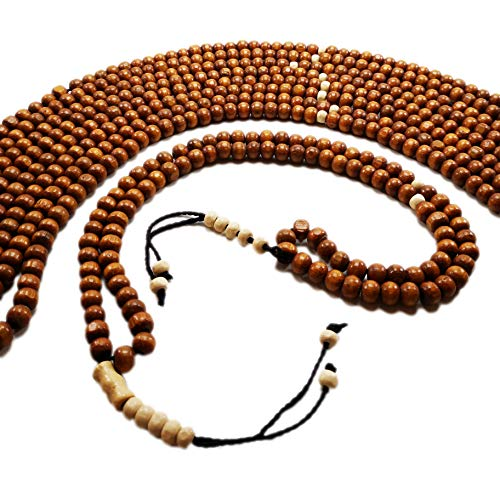 Lot of 10 Wooden Tasbih Sibha Worship Prayer 99 Havana Worry Beads Misbaha Muslim Arabic Islamic Gift Tasbeeh Islam for Zikr Meditation or Decor with Counter in Each -