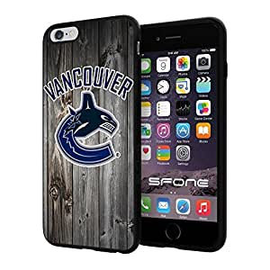 Vancouver Canucks Black Wood #123 iphone 6 4.7) I+ Case Protection Scratch Proof Soft Case Cover Protector
