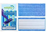 Millifiber Mop Refills (Pack of 2) Washable Reusable Microfiber Mop Pads Compatible with Swiffer WetJet. Mop Replacement Cover.