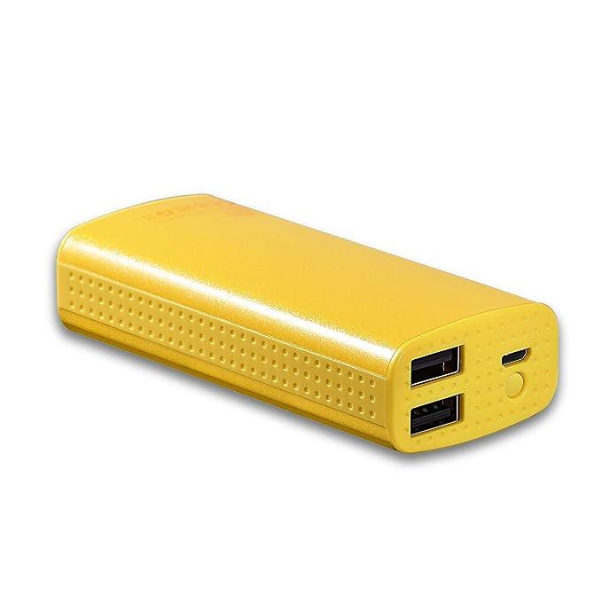 Casepar - Cargador de batería Externo portátil de 6000 mAh ...