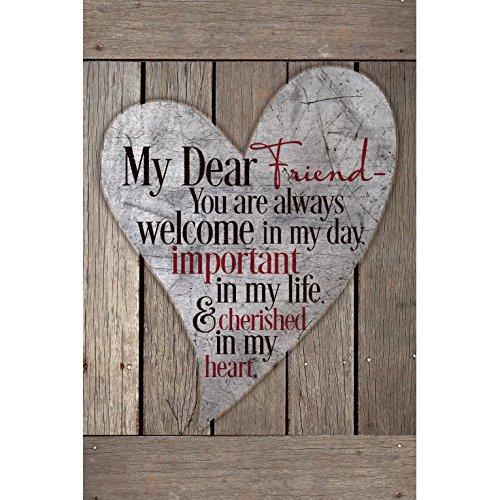 Dexsa My Dear Friend.New Horizons Wood Plaque ...
