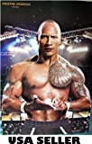Dwayne Johnson The Rock great POSTER 23.5 x 34 star of movies and wrestling (sent FROM USA in PVC pipe)