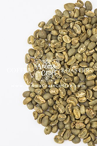 Aroma Craft Coffee: Organic Sumatra Takengon Ika Unroasted Coffee Green Beans (5 LB)