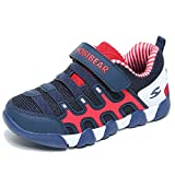 HOBIBEAR Kids Sneakers Casual Running Shoes for Boys&Girls AS3336 (Dark Blue, 3M)