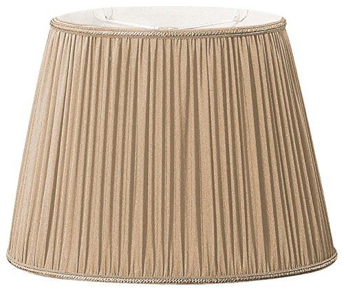 Design Gold Oval (Royal Designs DDS-4-16GGL (9x11) x(10.5x16.25) x12 Oval Pleated Designer Lamp Shade Gypsy Gold)