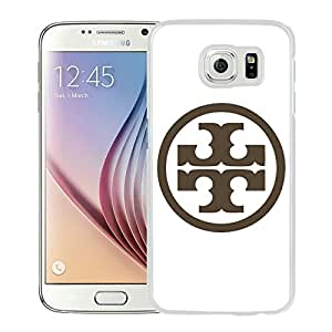 Beautiful Unique Designed Samsung Galaxy S6 Cover Case With Tory Burch 08 White Phone Case