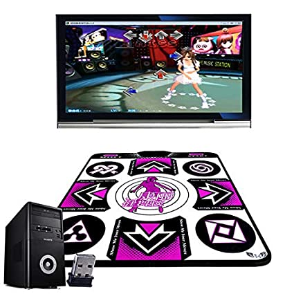 Amazon.com: Dance Rug Yoga Game Blanket Computer Wireless ...
