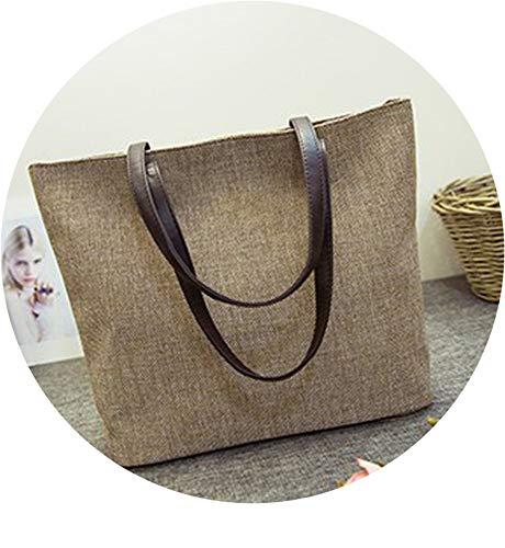 2019 Cotton Cloth Art Student Leisure All Match Sen Female Linen Canvas Shoulder Bag Handbag Women Messenger ()
