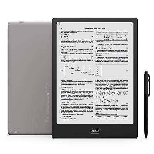 BOOX Upgraded Note Plus 10.3 eReader,Flush Glass Screen,Scratch Resistent,Handwriting Search