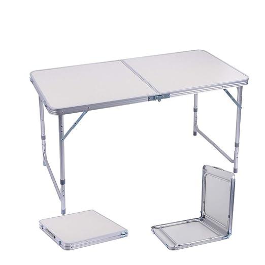 Tavoli Alluminio Pieghevoli Usati.Sunflo Tavolo Pieghevole Campeggio 120cm Lega Di Alluminio