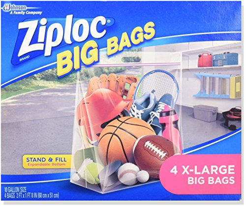 Ziploc Stand Fill Bags Count product image