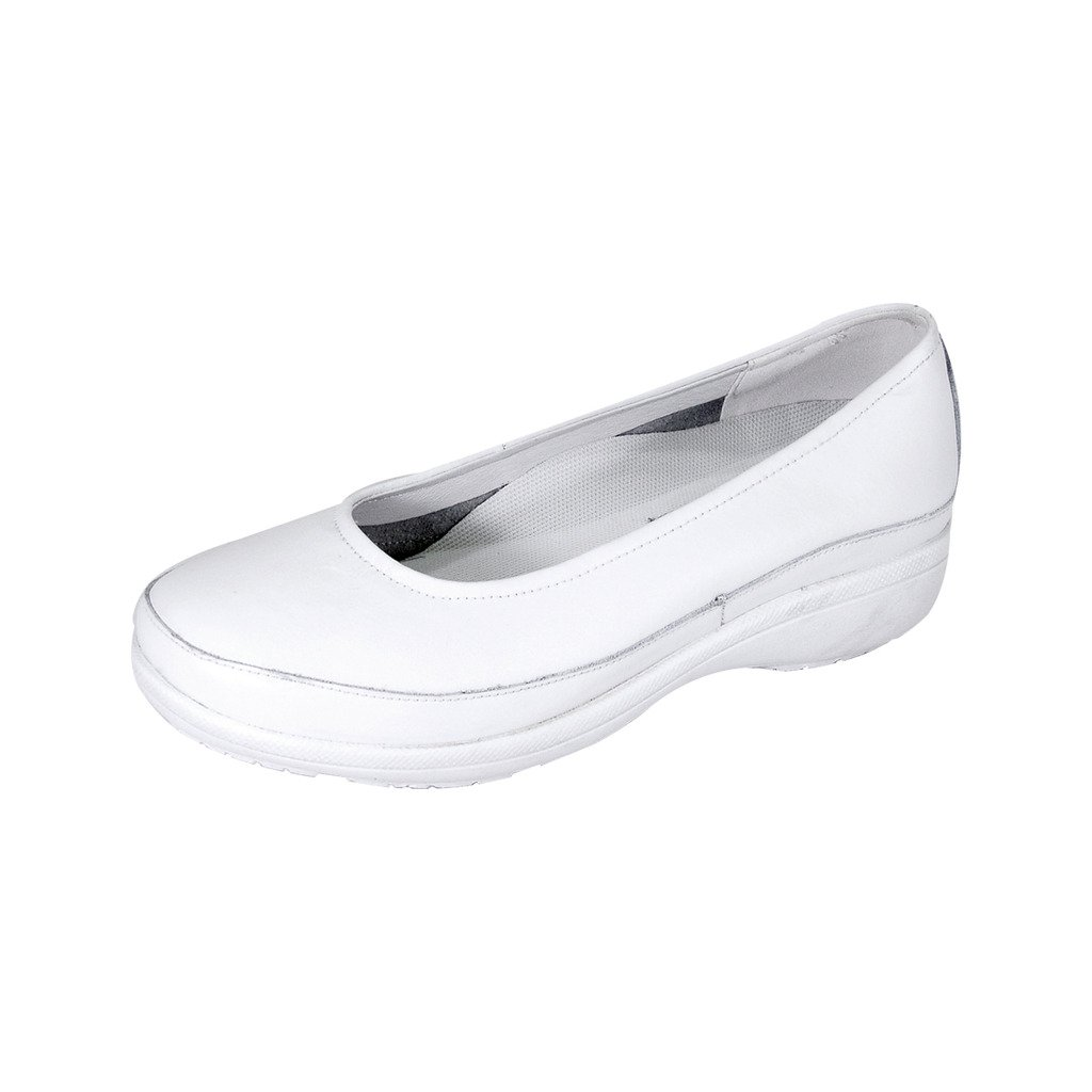24 Hour Comfort  Janine (1057) Women Extra Wide Width Shoes White 9.5