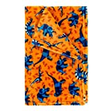 Viv & Lou Childrens Kid's Fashion Print Plush Throw Blanket (Dino-Mite)