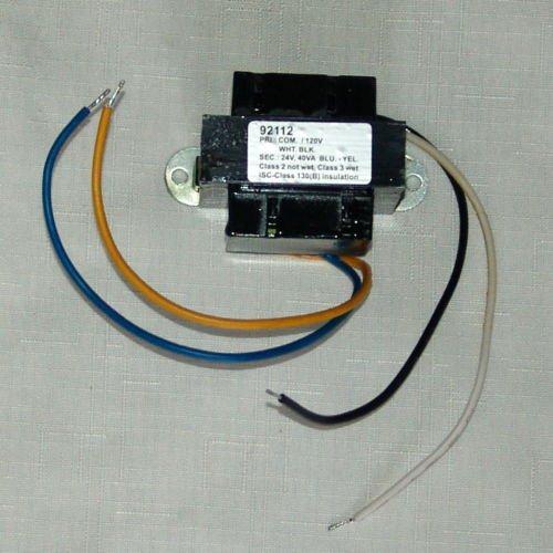 24 volt BOILER FURNACE control circuit transformer / 120V primary 24V secondary