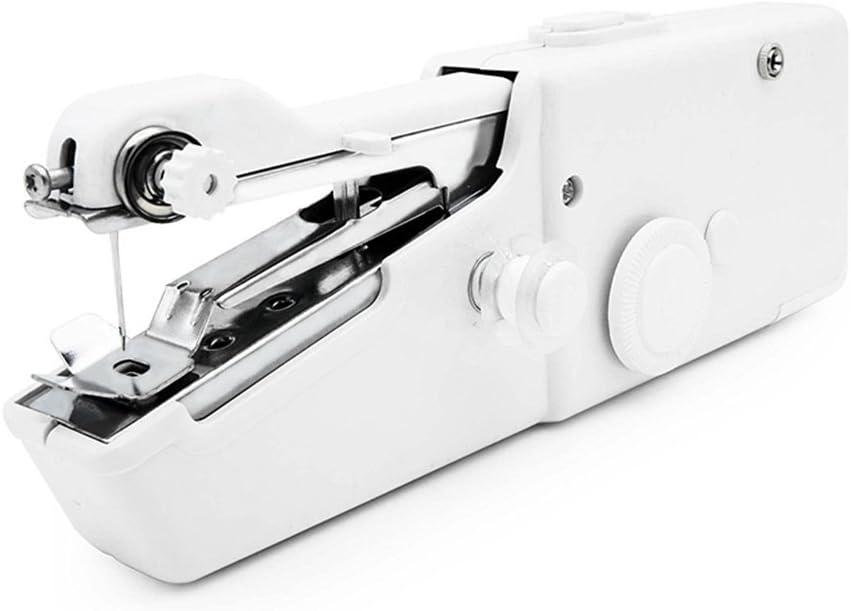 Máquina de coser de mano Qiyat, mini máquina de coser eléctrica y ...