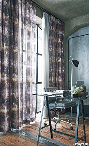サンゲツ デザインと透け感が魅力の木立のデザイン フラットカーテン1.3倍ヒダ SC3024 幅:250cm ×丈:180cm (2枚組)オーダーカーテン   B07849K1GD