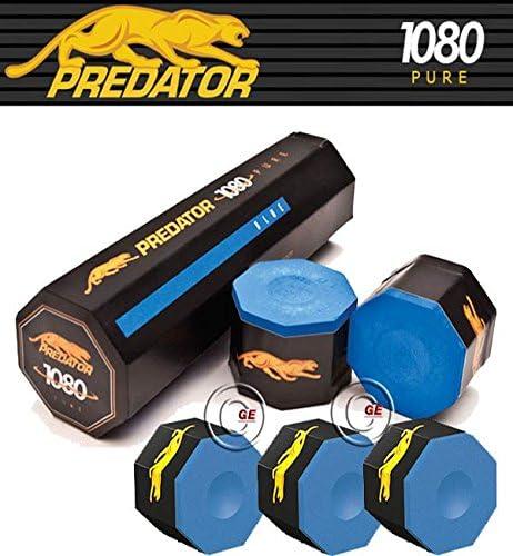 Predator 1080 Pure tiza Taco billar unidades 5 cubitos: Amazon.es ...