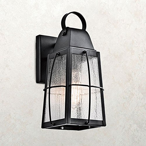 玄関 照明 LED 屋外 ポーチライト 門柱灯 門灯 外灯 防雨型 ウォールマウントライト クラシック k-9552BKTLD KICHLER キチラー ブラケット 照明器具 B075M9KFCH