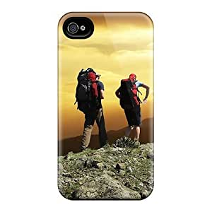 Durable Defender Case For iphone 5c Tpu Cover(mountain Sports) by waniwa