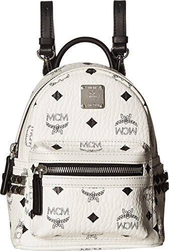 Stark Galleon Size Stud One Backpack Baby White Side Women's Mcm rzfwqzX