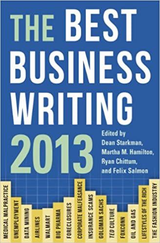 Amazon com: The Best Business Writing 2013 (Columbia
