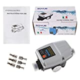 Automatic Pressure Controller Electronic Switch Control Flow for Water Pump Grey