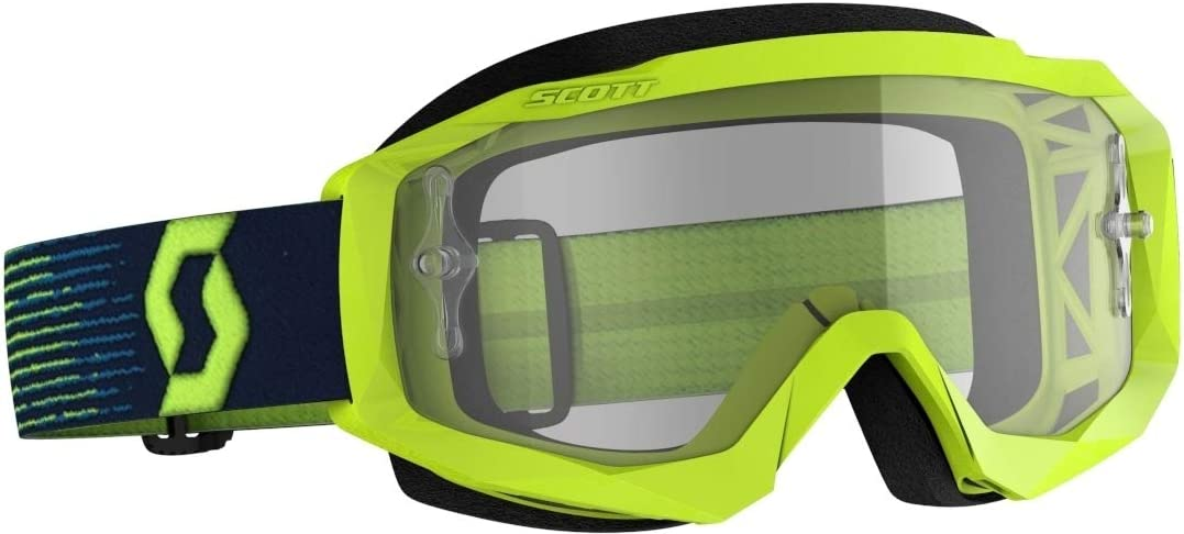 Scott Crossbril Hustle X MX Fluor Yellow